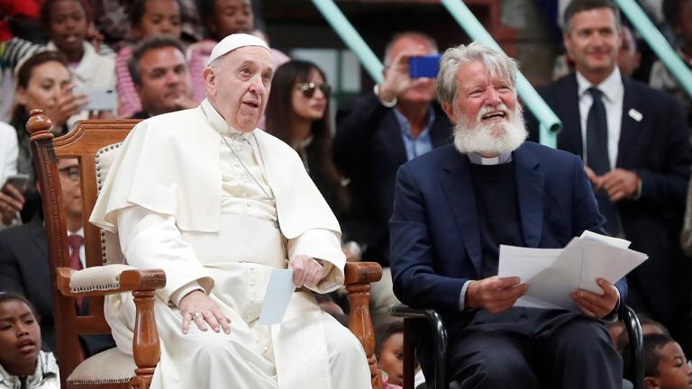 Papa reforça: