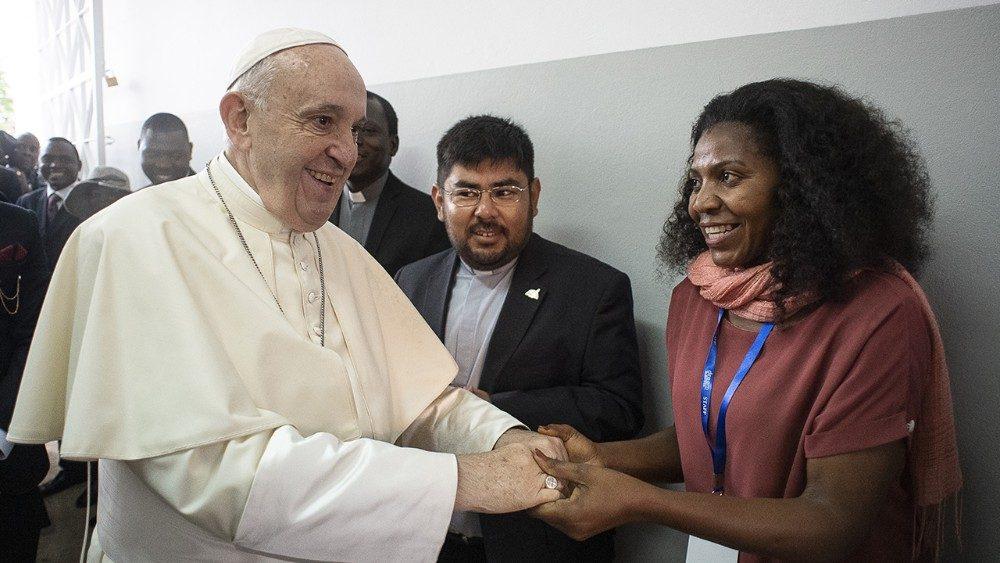 Papa Francisco: as mulheres são protagonistas de uma Igreja em saída