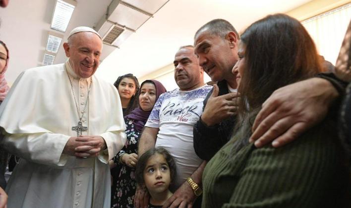 Papa sobre crise na Síria e Iraque: todo esforço pela paz constrói uma sociedade justa