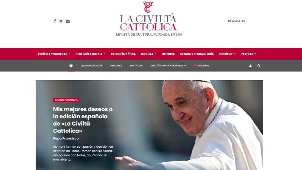 La Civiltà Cattolica que fala espanhol