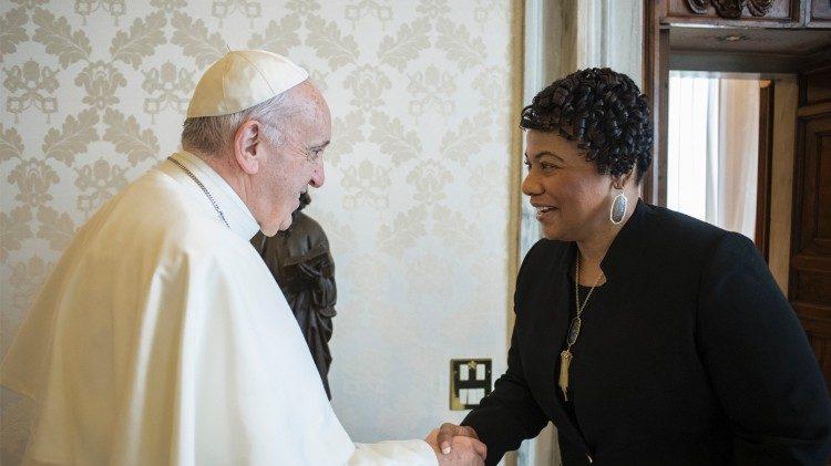 Papa Francisco: o sonho de Martin Luther King de harmonia e igualdade continua atual