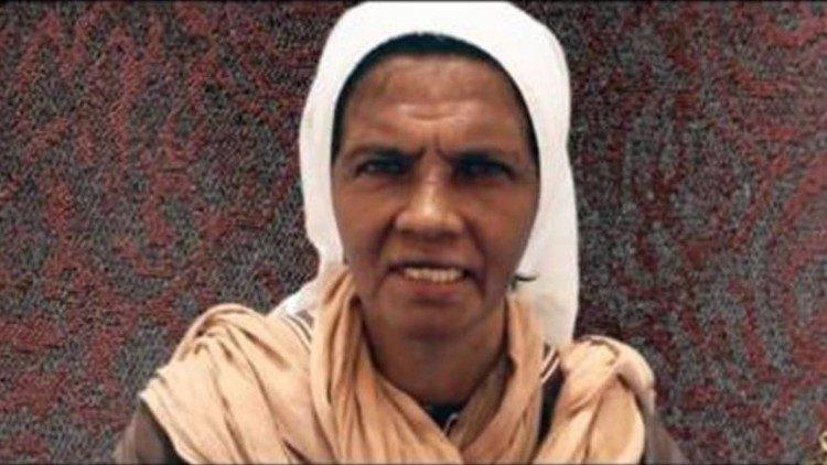 Mensagem da Irmã Glória Argoti, sequestrada no Mali por jihadistas