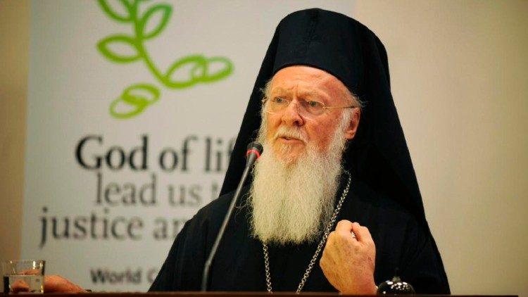 Solidariedade do Patriarca Bartolomeu pelos incêndios