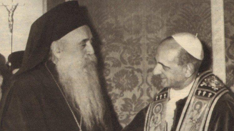 O Ministério da Reconciliação. Os Papas e o ecumenismo