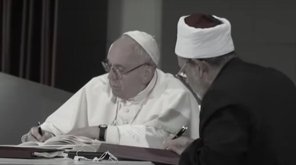 O Papa participa do 1º Dia Internacional da Fraternidade Humana