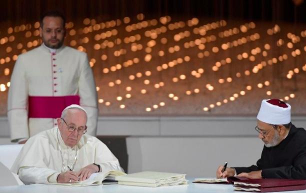 Papa: Dia da Fraternidade Humana, promover o diálogo inter-religioso e intercultural