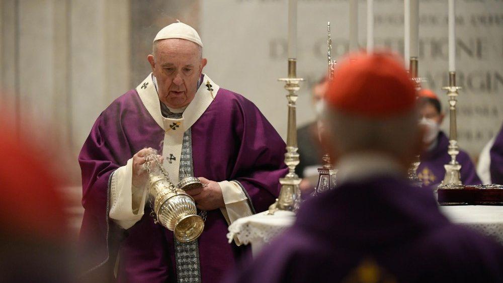 Francisco: a Quaresma é uma viagem de regresso a Deus